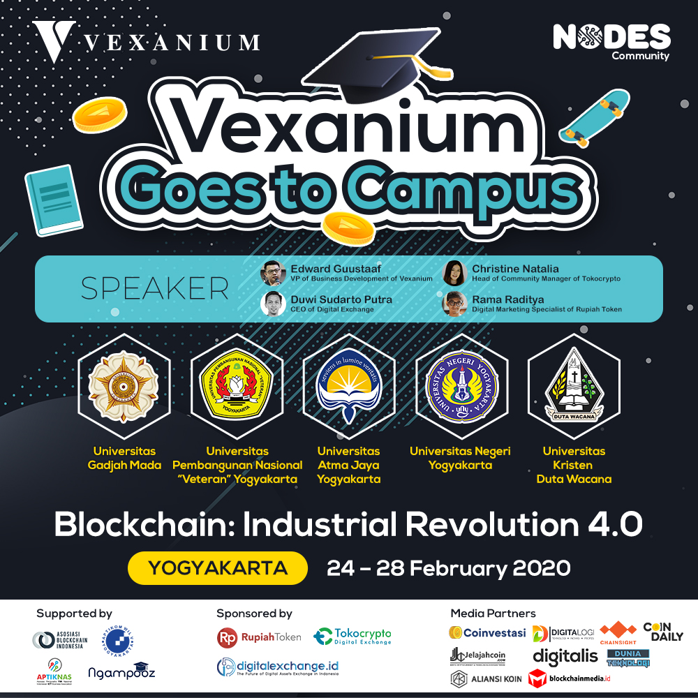 Vexanium Goes to Campus