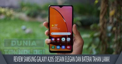 Review Samsung Galaxy A20s
